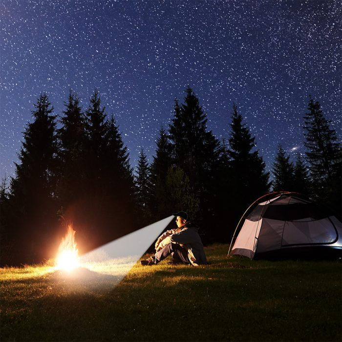 hands free lighting for camping