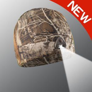 new powercap 2.0 camo lighted beanie