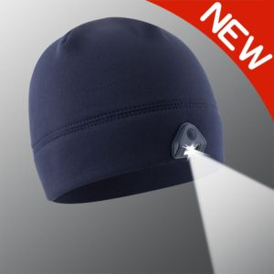 new navy powercap 2.0 lighted beanie