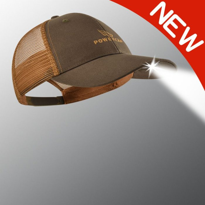 the new orange and brown powercap 2.0