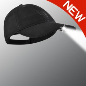 new black powercap led hat