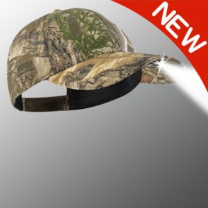 new camo powercap hat
