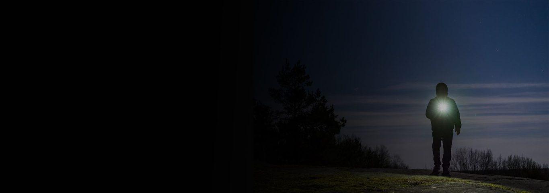 hands free lighting for night hiking