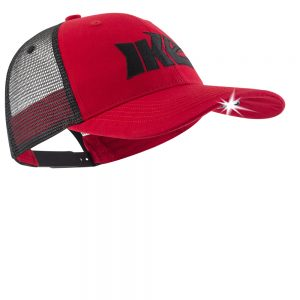 Lighted Fishing Hat Red and Black