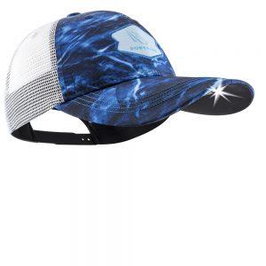 Mossy Oak Elements Aqua Blue Lighted Fishing Hat