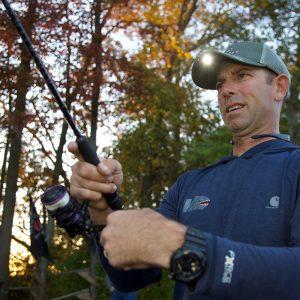 POWERCAP 2.0 Mossy Oak Elements LED Fishing Hat