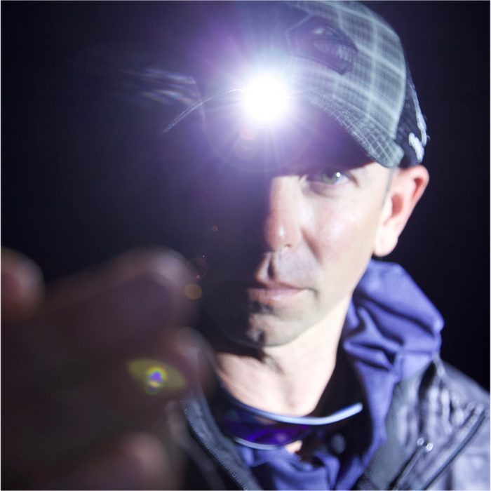 Lighted Fishing hat Mike Iaconelli