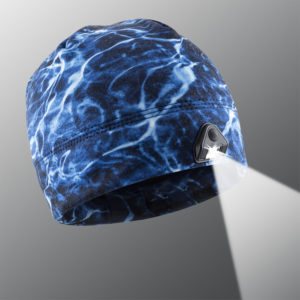Aqua Blue Lighted Beanie