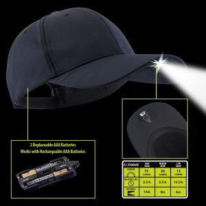 POWERCAP 2.0 Tactical lighted hat
