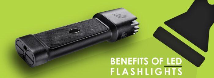 benefits of led flashlights