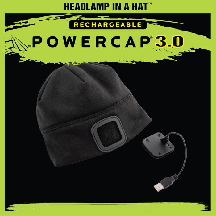powercap 3.0 rechargeable beanie