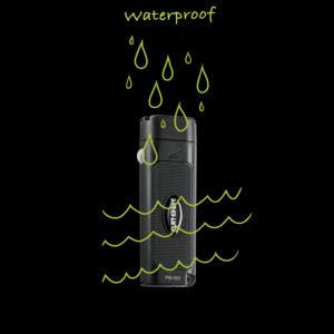 waterproof flat flashlight