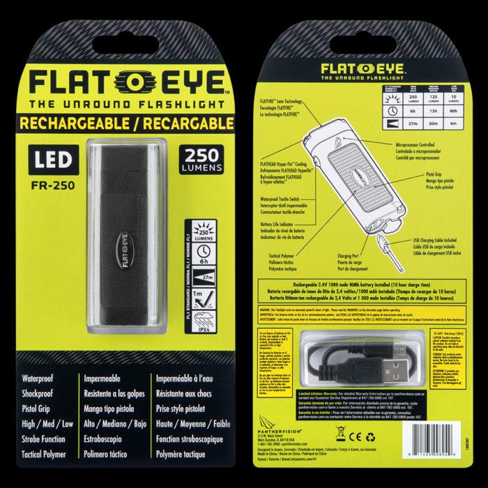 Rechargeable Flateye Flat Flashlight