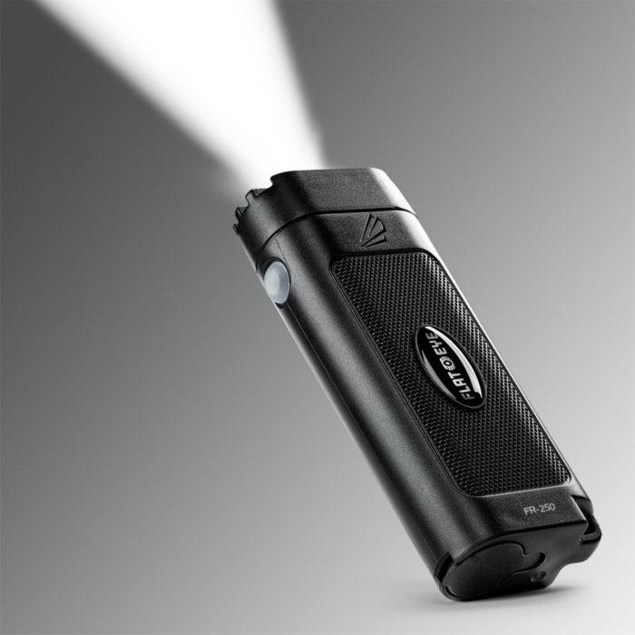 Flateye 250 rechargeable flashlight